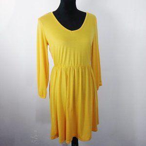 Bobbie Brooks yellow dress size S